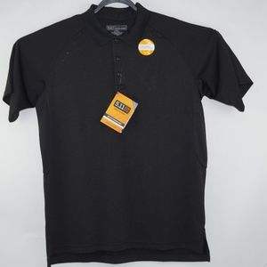 New 5.11 Tactical Series Black Polo Shirt Size L